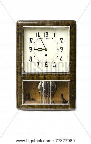old pendulum clock
