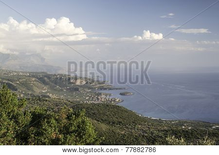 Landscape From Greece  Sea scape