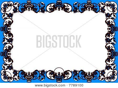 Black Decorative Frame [converted].eps
