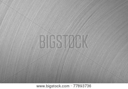 background brushed aluminum metallic plate