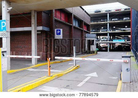 image of a multilevel parking