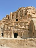 foto of caravan  - Petra, The ancient caravan site in Jordan