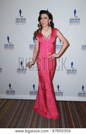 LOS ANGELES - FEB 11:  Beril Akcay at the 30th Annual John Wayne Odyssey Ball at the Beverly Wilshire Hotel on April 11, 2015 in Beverly Hills, CA