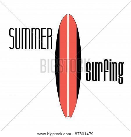 Sign Surfboard