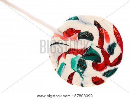 Bright Round Lollipop Isolated