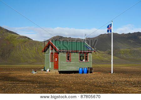 Small icelandic cabin