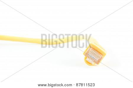 Yellow Ethernet Cable