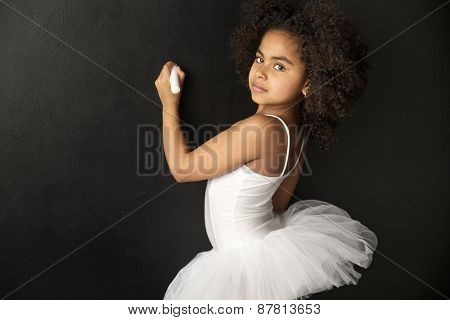 Cute mulatto girl