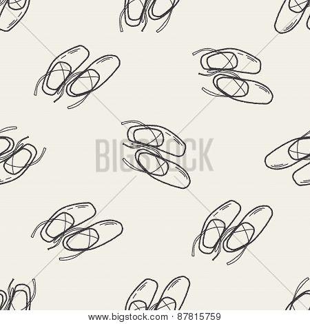 Ballet Shoes Doodle