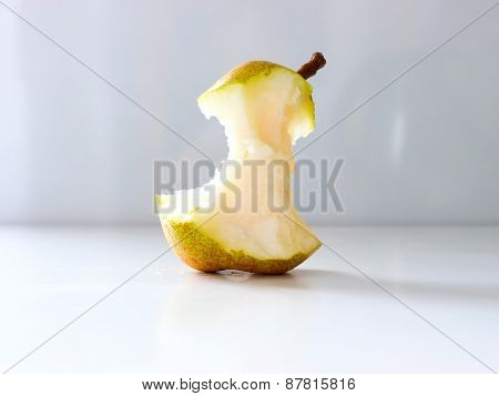 Pear nibble.