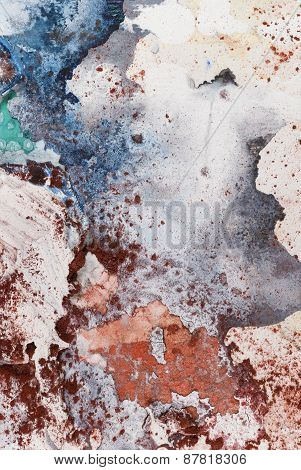 Mixed Media Abstract Art Background