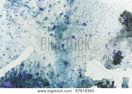 White and Blue Abstract Art Background