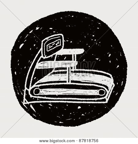 Treadmill Doodle