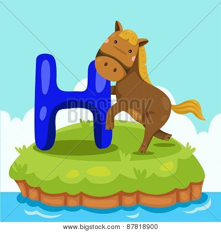 Illustrator of Letter 'H is for horse'