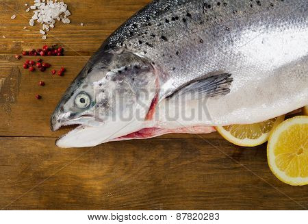 Atlantic Salmon  With Lemon