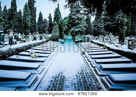 Spanish graveyard