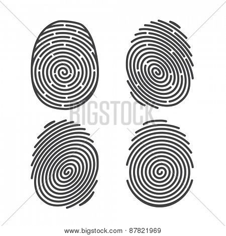 Set of Finger Prints