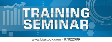 Training Seminar Business Theme Background Banner