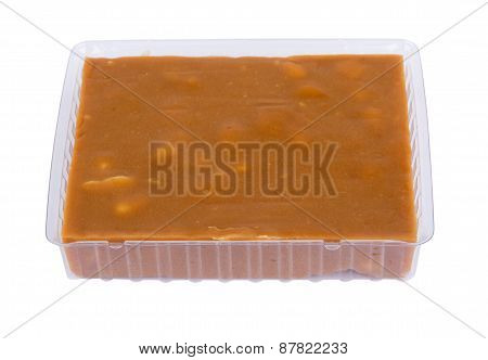 Plastic Box With Sherbet
