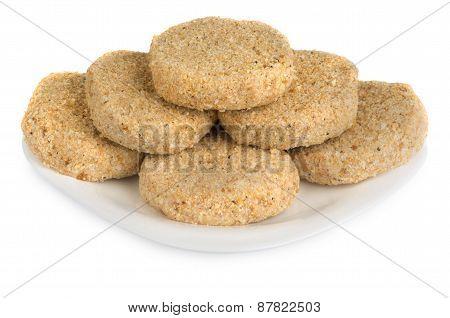 Semi Patties In Plate