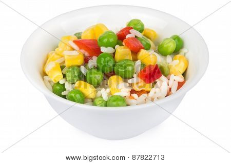Vegetable Mix In Bowl