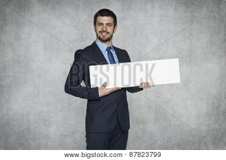 Businessman Proudly Advertisement