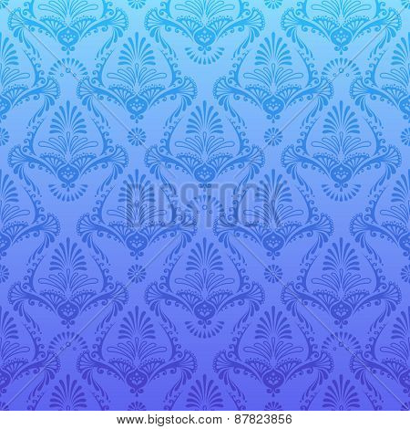 Retro Pattern In Vintage Style