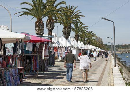 Lagos, Algarve, Portugal - Saturday market