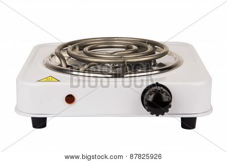 Electric Stove With One Burner