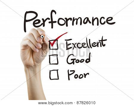 Performance List Checking By Hand