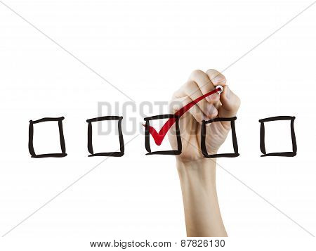 Checklist Checking By Hand