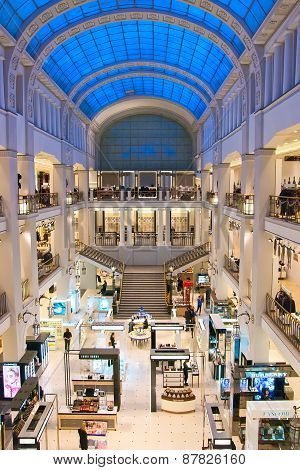 Saint-Petersburg. Russia. Department store