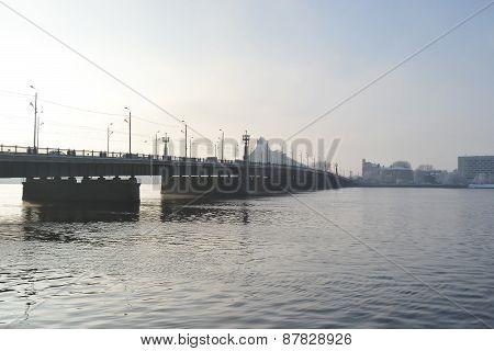 Bridge In Riga.