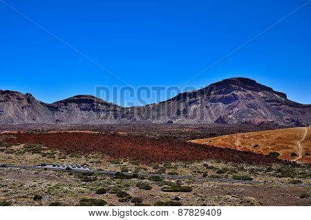 National Park Around The Volcano Teide