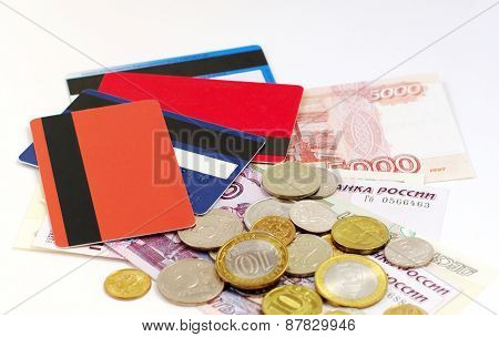 credit cards and russian cash