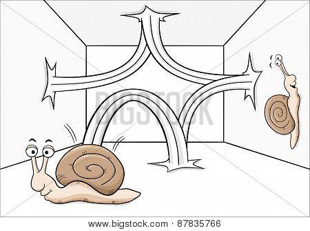 Bouncing Snail