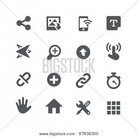 System Icons // Apps Interface