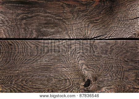 Old dark wood background