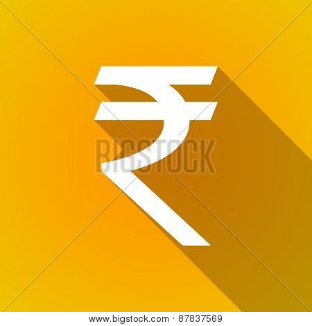Long Shadow Rupee Icon