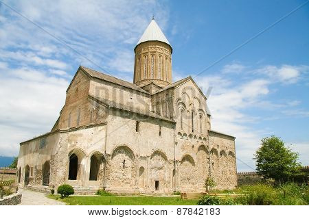 Alaverdi Monastery In Kakheti Region In Eastern Georgia