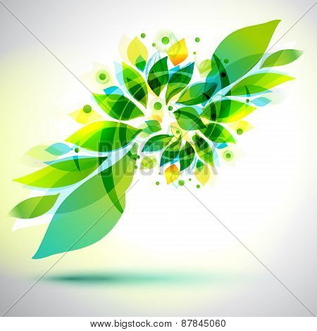 Summer Decorative Geometric Flower Sticker