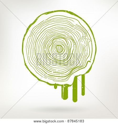 Save Tree Creative Concept