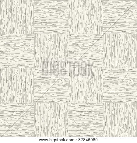 Background with black lines and curves