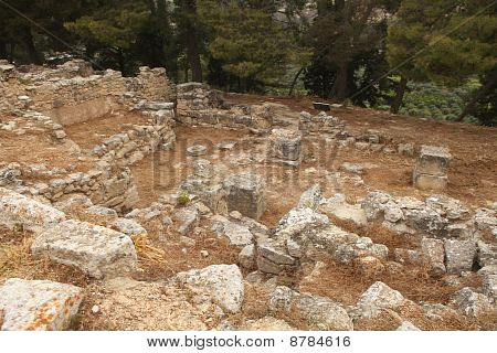 Excavations In Crete