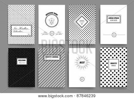 Template. Vintage card, for invitation or announcement. Hipster style. Hand drawn background.