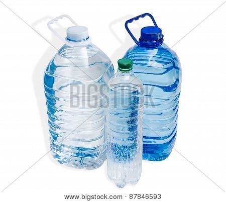 Three Water Bottle