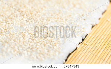 Rice With Sesame Seeds