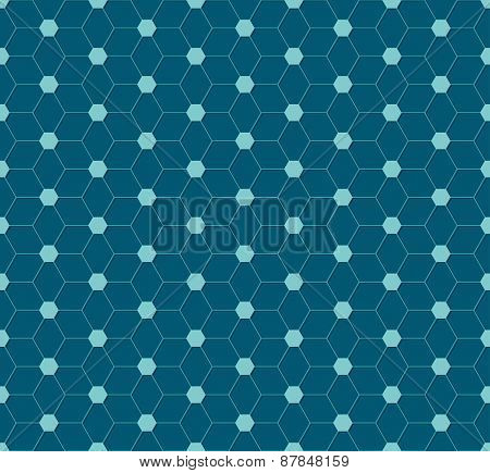 Abstract Hexagon Pattern Design
