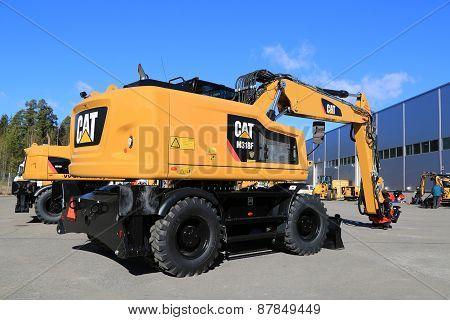 Cat M318 Wheel Excavator