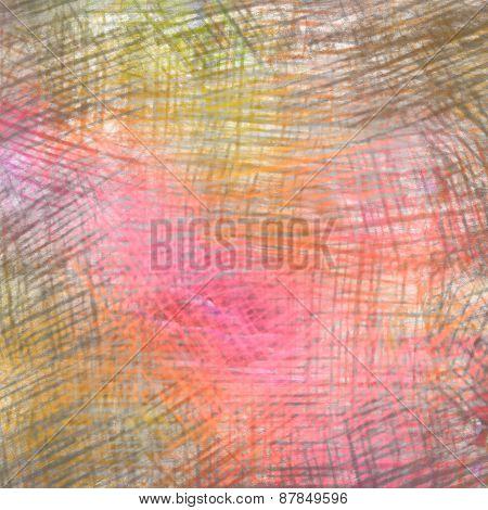 Colorful crayon drawing texture